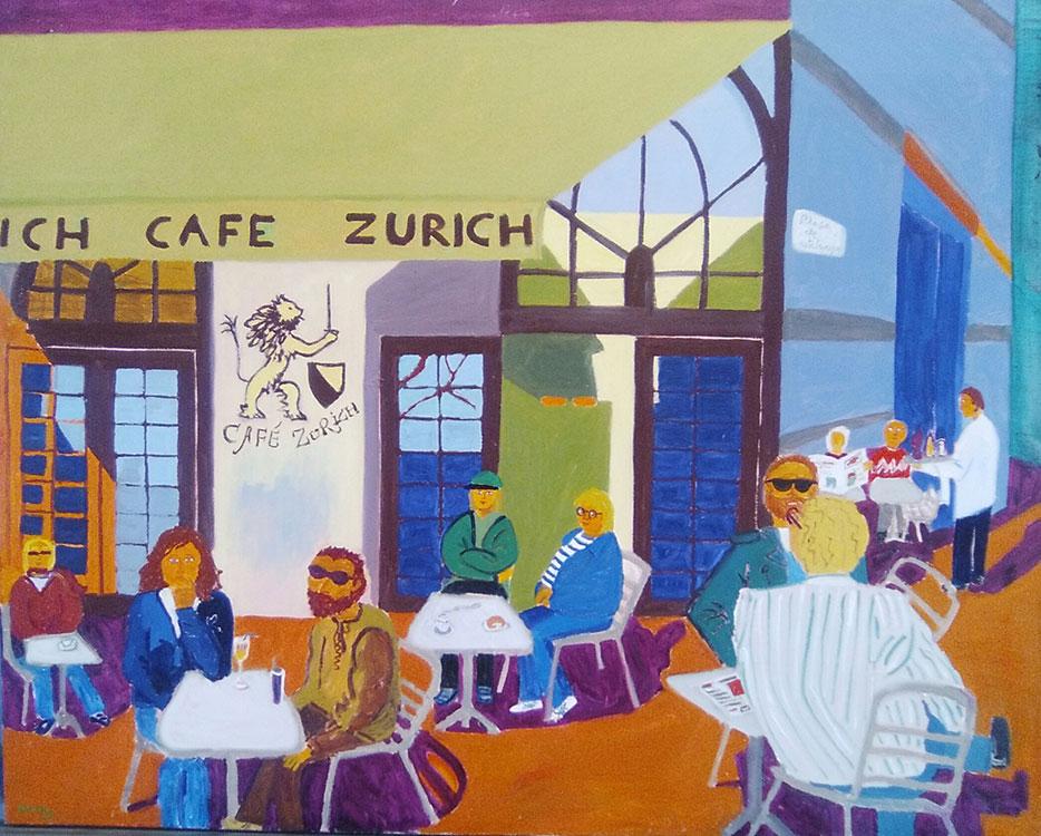 Exterior café Zurich