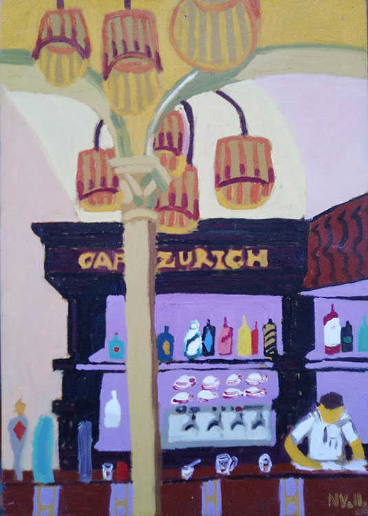 Interior café Zurich
