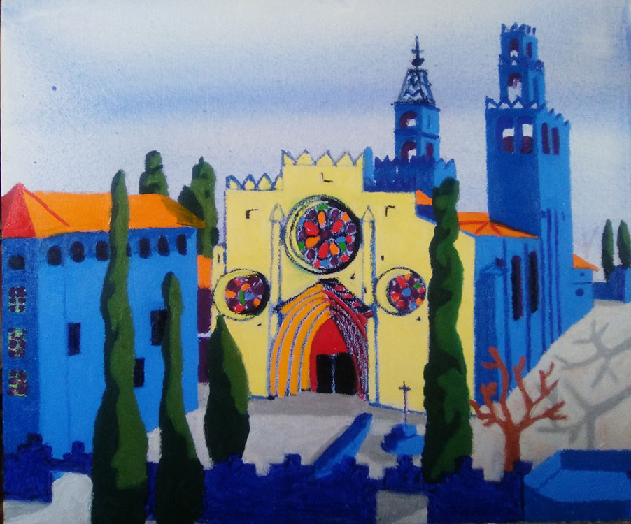 Mañana en Monasterio de Sant Cugat