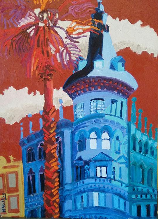 Torre en la calle Pelayo